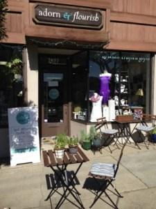 Adorn & Flourish's inviting storefront in El Cerrito.