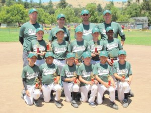 Hornets, 2nd place at San Anselmo, July 2011.