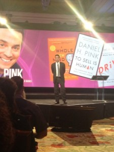 Daniel Pink gave an entertaining talk at a healthcare supply-chain management conference in Vegas.