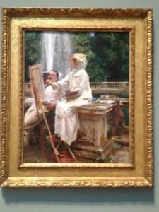 John Singer Sargen's The Fountain Villa Torlonia, Frascati, Italy, 1920.