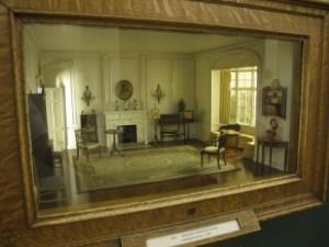 A Thorne miniature room.