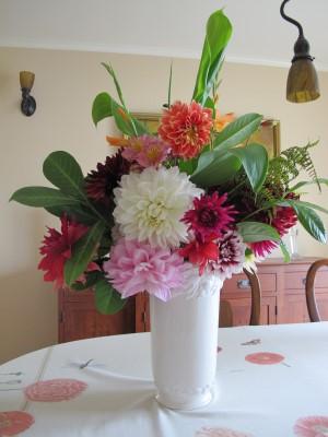 My bouquet for my friend Jane.