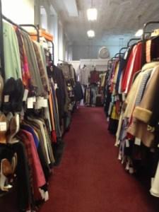 Encore boasts aisles of amazing vintage clothes.