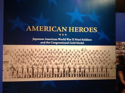 The American Heroes exhibit.