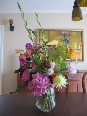 An early June bouquet, the front side.