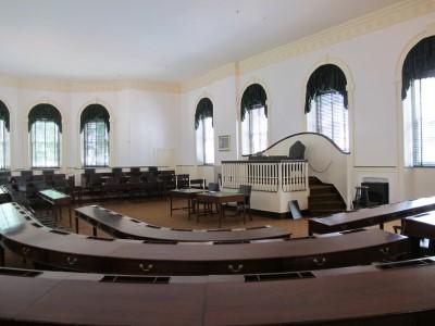 The original House of Representatives room.
