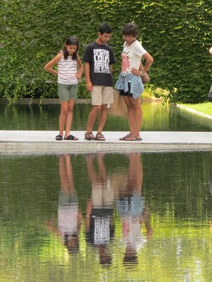Reflections of a great year - Barnes Museum, Philadelphia, August 2014.