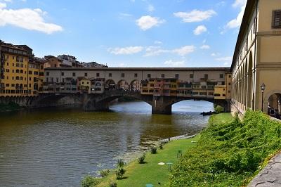Ponte Vecchio over the Arno River.