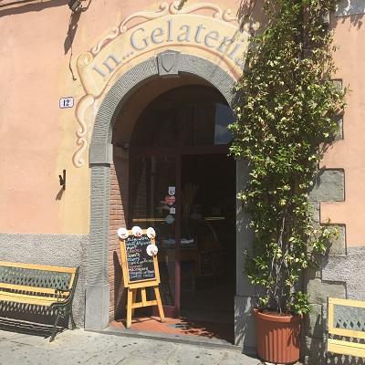 A familiar type of establishment for me - a gelateria.
