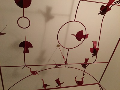 I'm going to miss waking up in this amazing four-poster bed with red birds in flight above me.