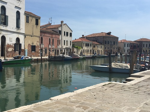 A quiet morning on Murano.
