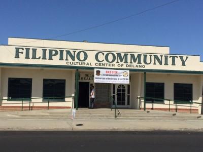 The Filipino Community Cultural Center of Delano, home of Bold Step: A Celebration of the 50th Anniversary of the Delano Grape Strike.