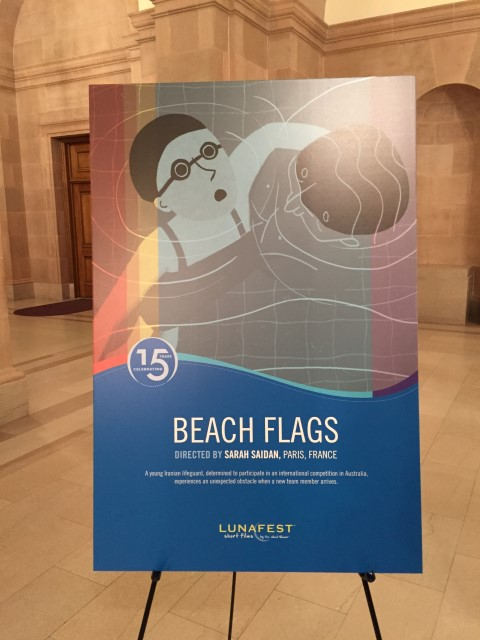 Beach Flags poster