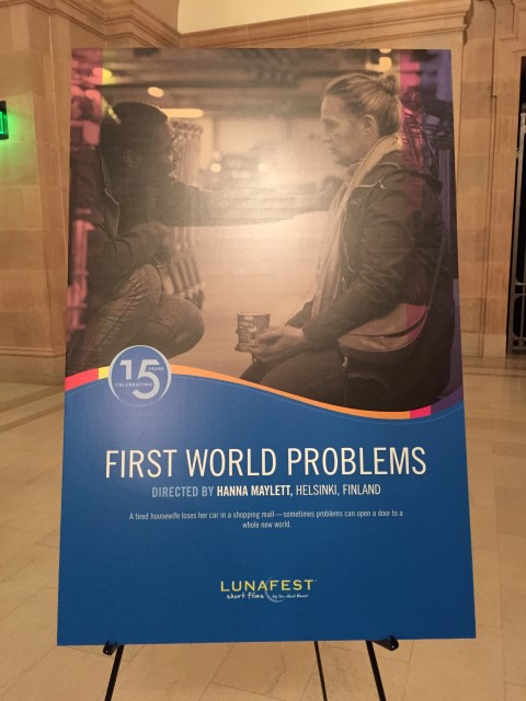 First World Problems poster