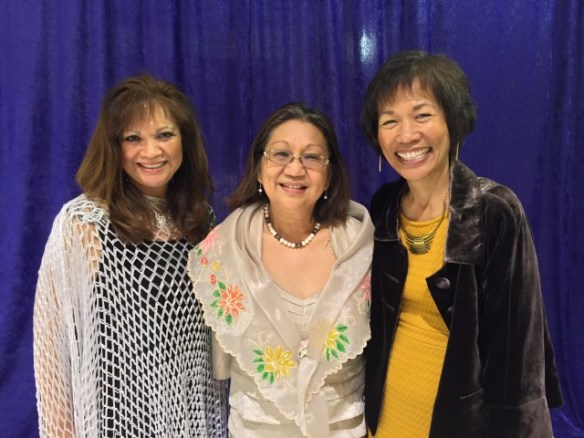 My cousins Jane and Leila, who do so much for the FilAm community and our larger community. Such inspirations!