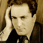 Armenian-American writer William Saroyan (photo credit: Stanford Library).