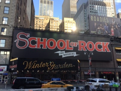 A group of FANHS conference attendees took advantage of getting tickets to see School of Rock, which stars Jaygee Macapugay.