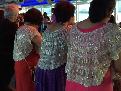 Beautiful traditional Filipino fashion.