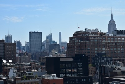 You can see the Empire State Building to the right (photo by David).