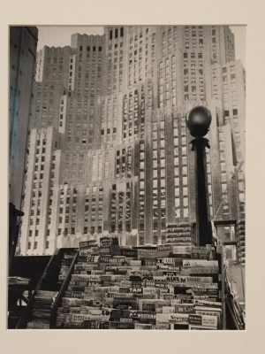 Metropolitan Life Insurance Building (gelatin silver print), 1955, from the series The Americans, by Robert Frank.