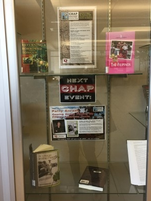 Library display.