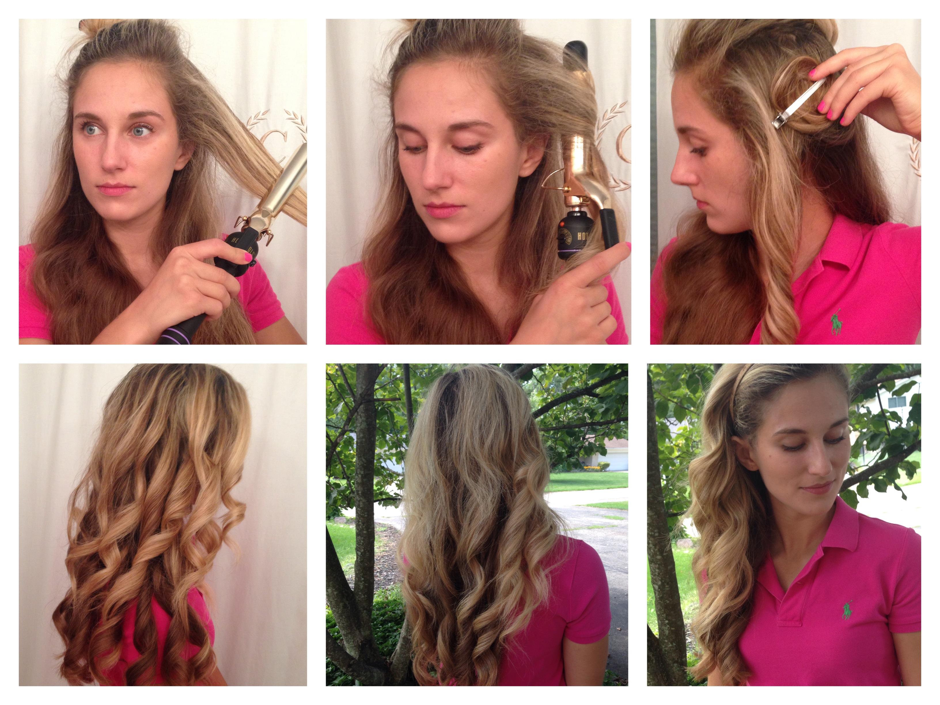 How I Curl My Hair – 4 Methods