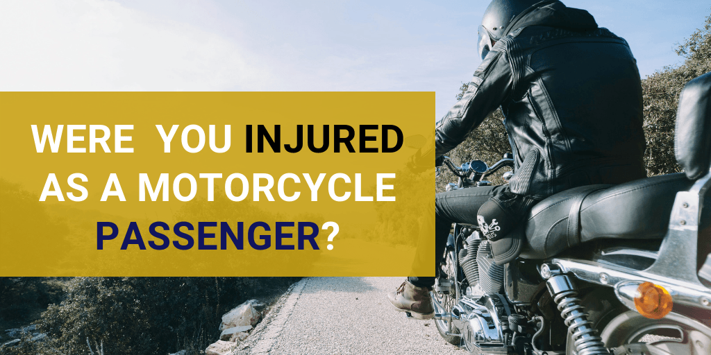 Were You Injured as a Motorcycle Passenger?