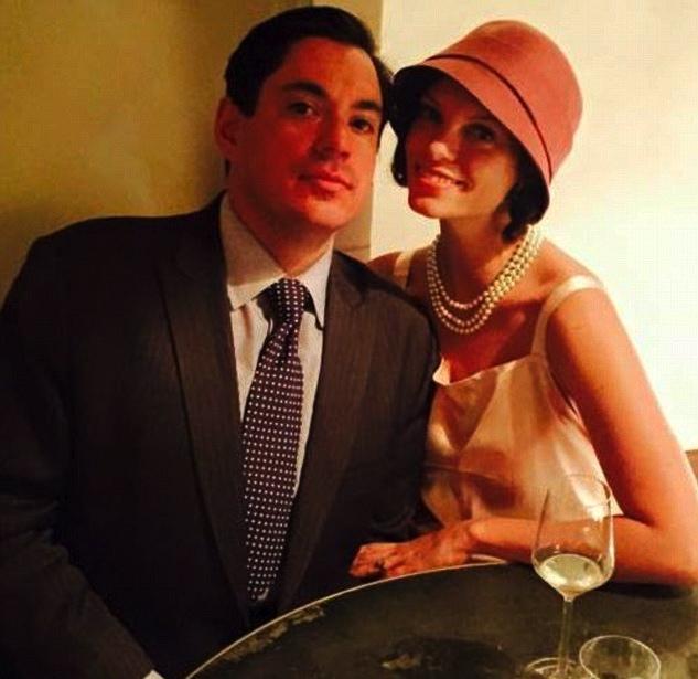 Sasha and his wife. Photo c/o Facebook