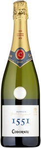 Codorníu 1551 Vintage Brut 75cl - Case of 6