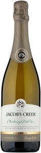 Jacob's Creek Chardonnay Pinot Noir Brut Cuvée Sparkling Wine 75cl - Case of 6