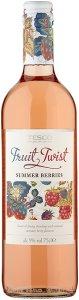 Tesco Fruit Twist Summer Berries 75cl - Case of 6