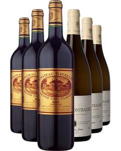 The Grand Vin Six Bottle Wine Gift 6 x 75cl Bottles
