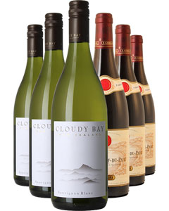 The Iconic Six Wine Gift 6 x 75cl Bottles