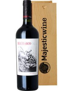 Ben Marco Malbec Single Bottle Wine Gift in Wood