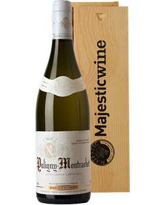 Puligny-Montrachet Jean-Louis Chavy Single Bottle Wine Gift in Wood