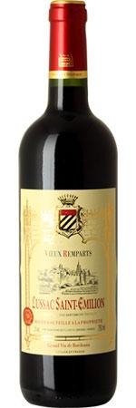 Vieux Remparts Lussac St-Emilion Single Bottle Wine Gift