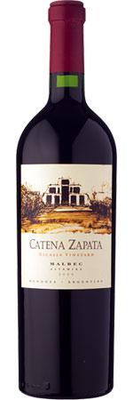 Catena Zapata Nicasia Single Vineyard Malbec 2012