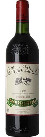 La Rioja Alta 904 1992