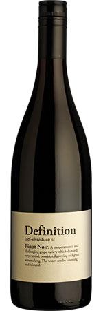 Definition Marlborough Pinot Noir 2016