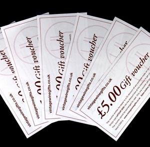 £100.00 E wine Gift Voucher