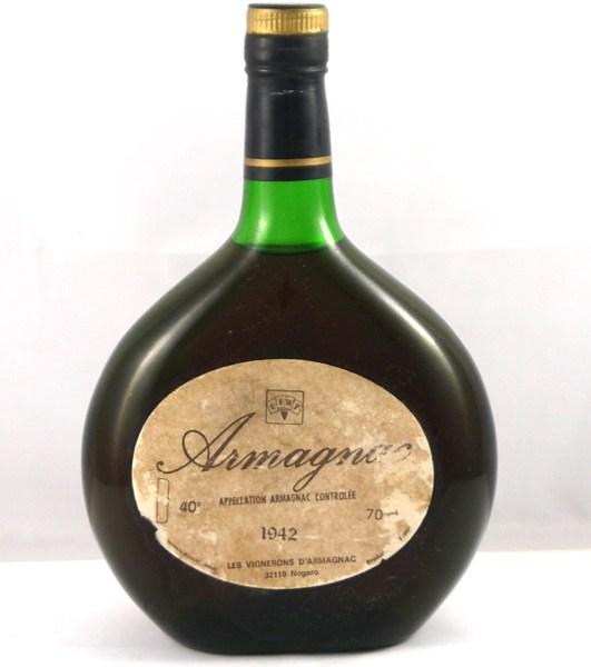 1942 Les Vignerons d'Armagnac 1942 (70cl)