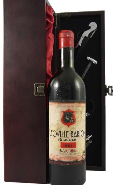 1952 Chateau Leoville - Barton 1952 2eme Grand Cru Classe St Julien