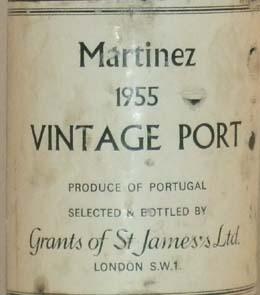 1955 Martinez Vintage Port 1955