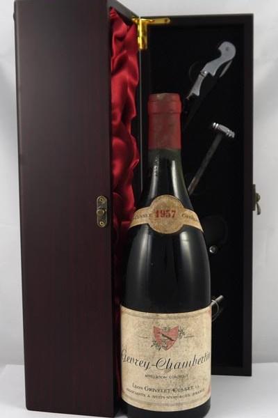1957 Gevrey Chambertin 1957 Grivelet Cusset
