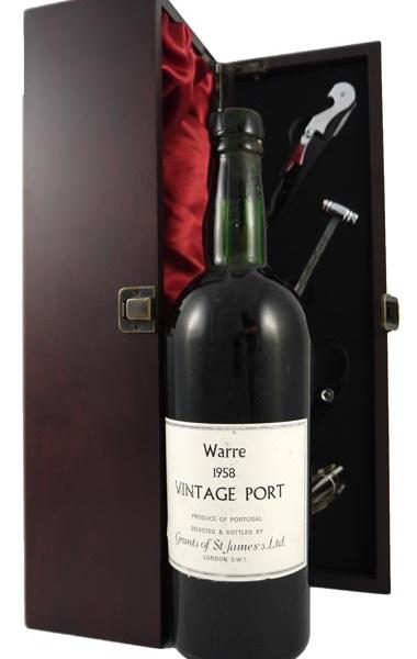 1958 Warre's Vintage Port 1958