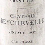 1959 Chateau Beychevelle 1959 St Julien Grand Cru Classe (1/2 bottle)