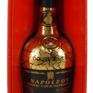 1960s Bottling Courvoisier Napoleon Cour Imperiale Cognac (60s Bottling) Gold leaf bottle