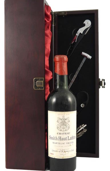 1961 Chateau Smith Haut Lafite 1961 Graves Cru Classe (1/2 bottle)
