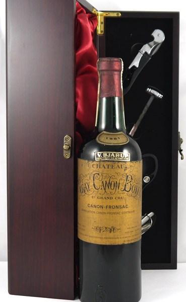 1961 Chateau Vray Canon Boyer 1961 Bordeaux 1er Grand Cru