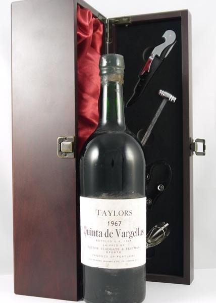 1967 Taylor Fladgate Quinta De Vargellas Vintage  Port 1967